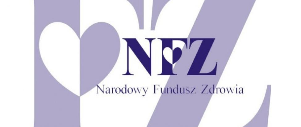 Obrazek przedstawiający logo Narodowego Funduszu Zdrowia